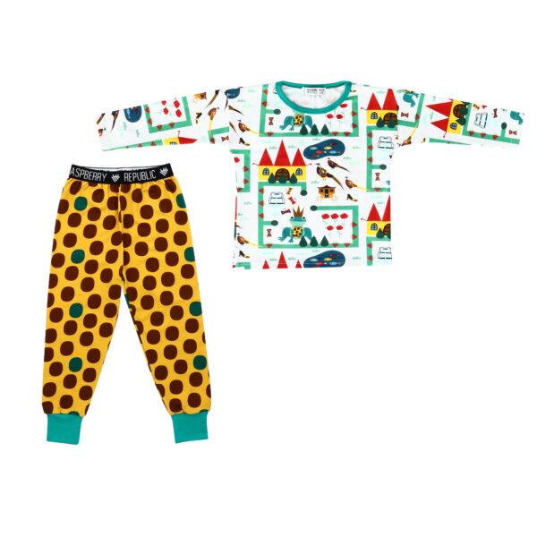Pyjama Set Top/Bottom – Royal Ribbit NEW AW19 COLLECTION