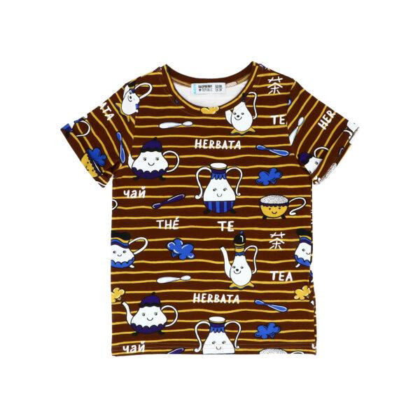 T-Shirt Krótki Rękaw – Herbata NOWA KOLEKCJA