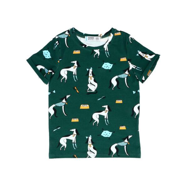 T-Shirt Krótki Rękaw – Charty NOWA KOLEKCJA