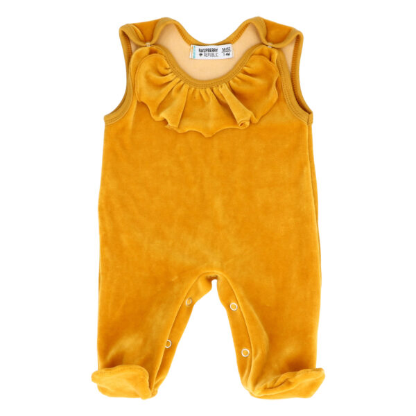 Velour Baby Sleepsuit – Sacrebleu NEW AW19 COLLECTION